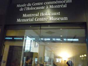 Museu do Holocausto, Montreal.