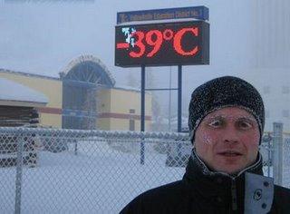 muito frio